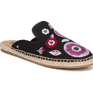 Circus by Sam Edelman Embroidered Flat Espadrilles
